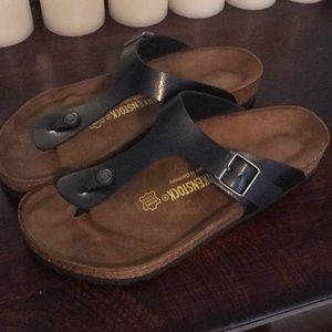 d1e500d4ae92 Birkenstock Shoes - Brand new in box Birkenstock Gizeh Birko-Flor 10